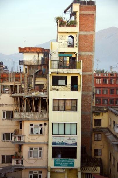 達人帶路-環遊世界-尼泊爾-屋頂