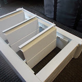 "Apollo 8""  open louvers-rafter clear"