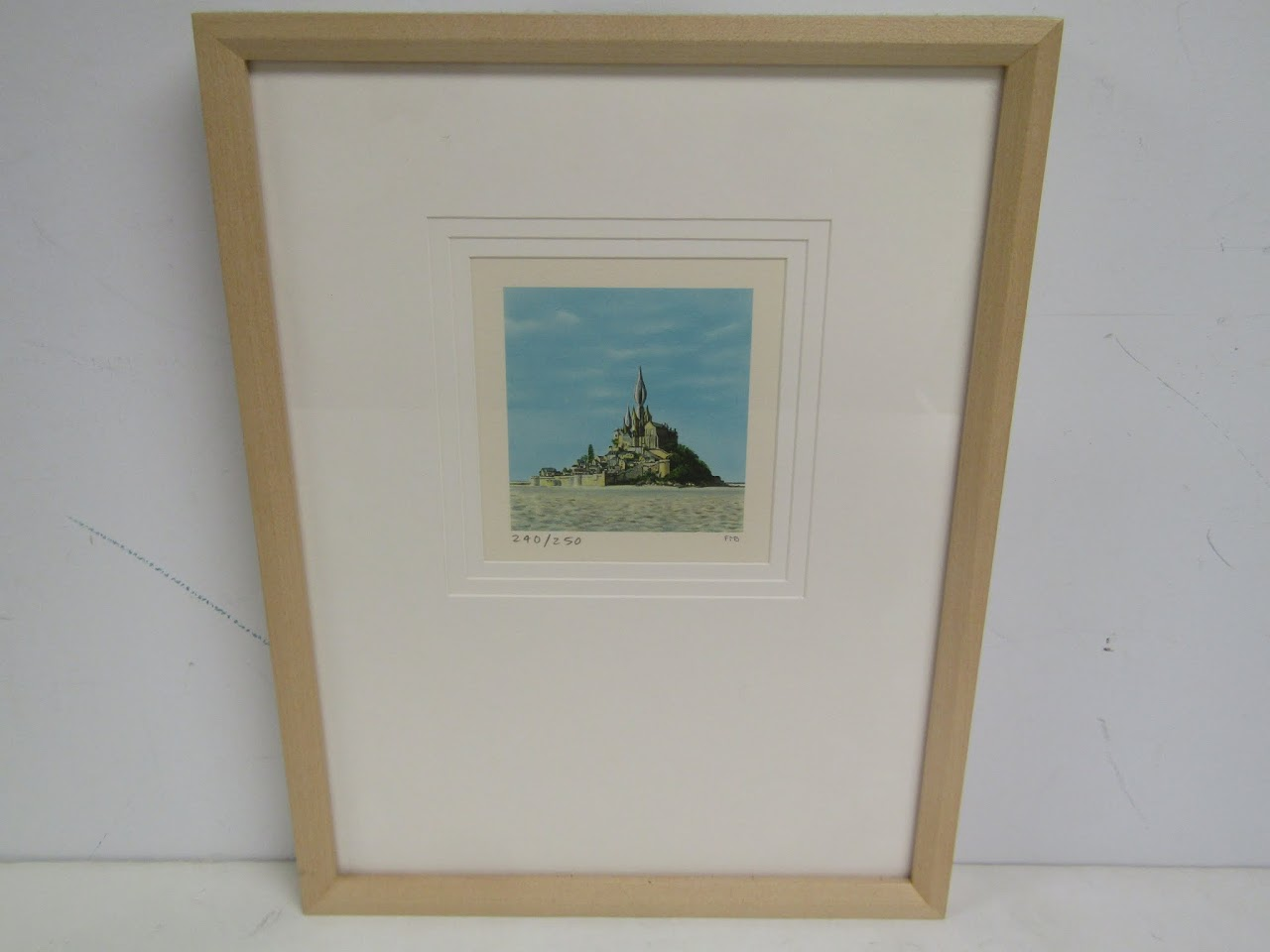 "Fanny Brennan ""Mont St. Michel"" Lithograph"