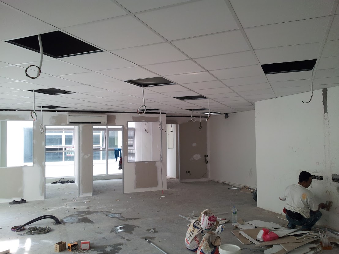 installing of ceiling board