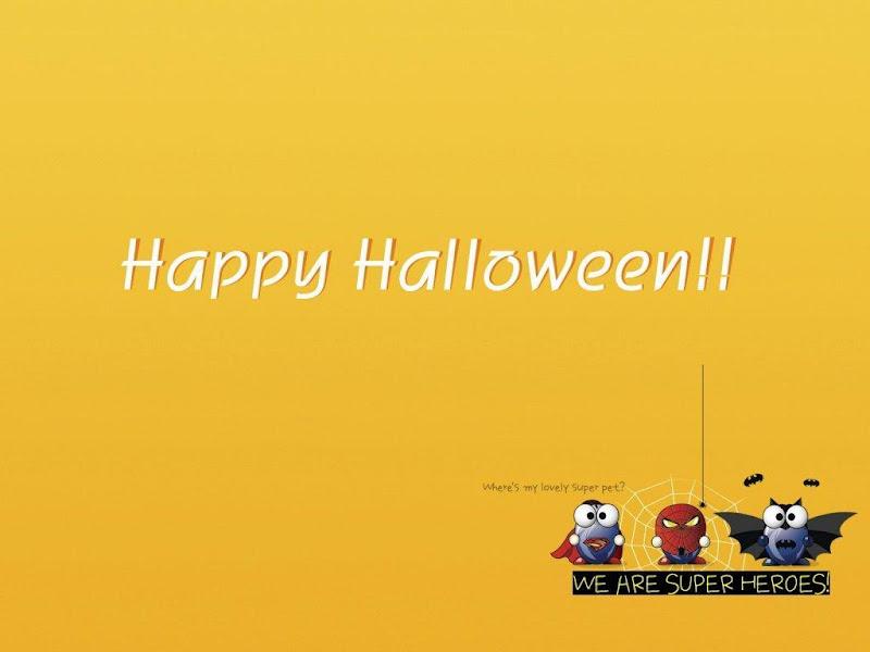 Super Halloween Heroes, Halloween