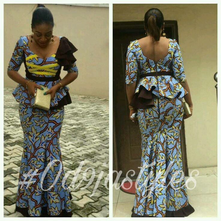 Ankara Long Skirt And Blouse Styles Latest Ankara Styles