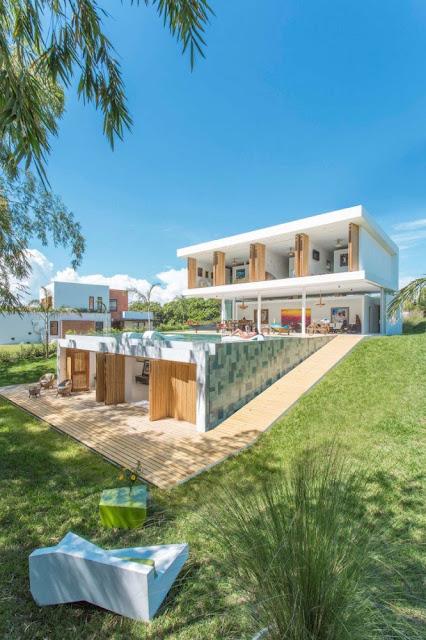 #GM Arquitectos 哥倫比亞建築事務所:打造 Gallery House 藝術之家 別墅 6