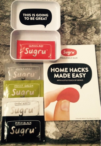 Sugru Starter Kit - Sugru in many colours