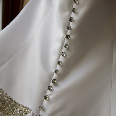 Erin - Diamante buttons