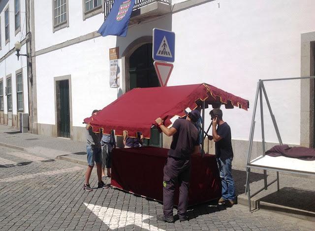 Início dos preparativos para mais uma Feira Medieval em Lamego