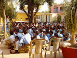 Assembly for the project secondary school students