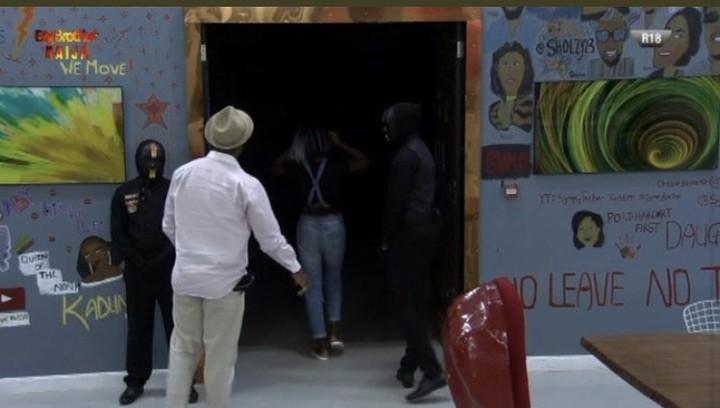BBNaina: Diane Gets Evicted From Big Brother Naija