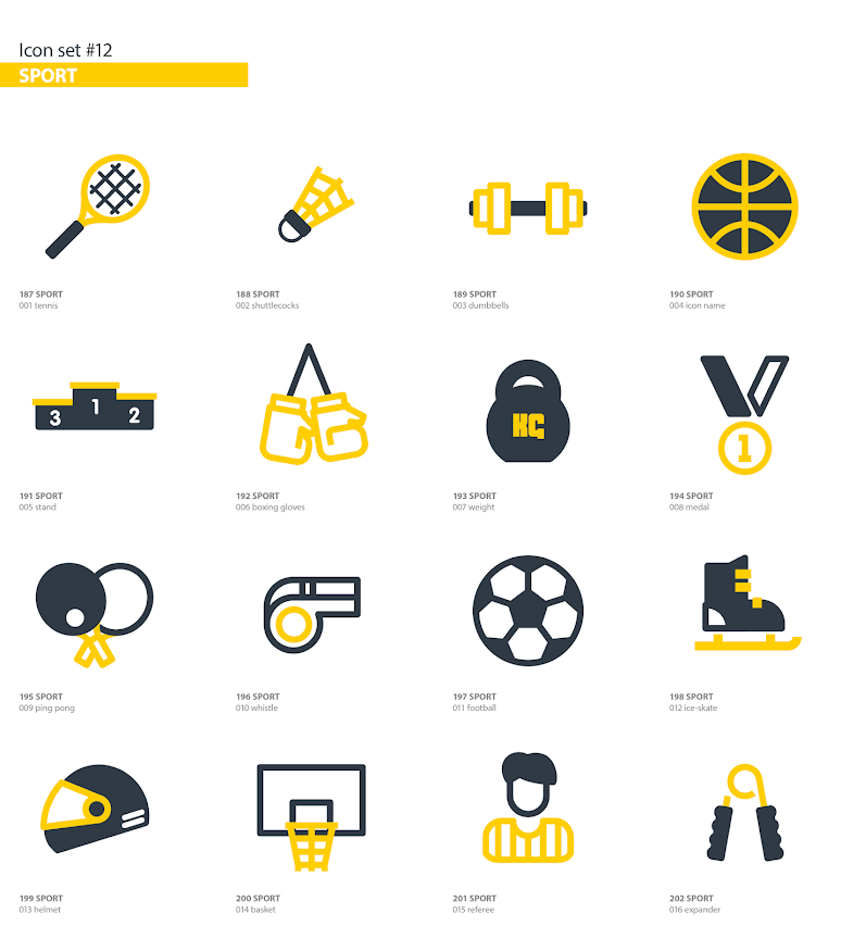 Animated Icons Pack - 12