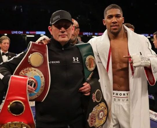 Anthony Joshua Speaks On People Asking Him To Sack His Trainer