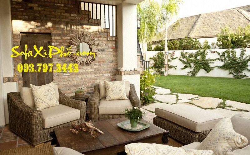 Nệm ghế salon gỗ - Bọc ghế sofa vải tphcm