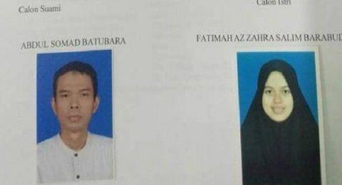 Fatimah Azzahra, Calon Istri Ustaz Abdul Somad Santri Pondok Alquran