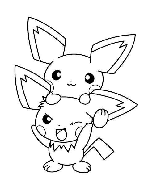 Pichu Pokemon Coloring Page This Pichu Pokemon Coloring Page Is Very  Popular Among The Hellokids Fans New Coloring Pages Added All The Time To  Electric