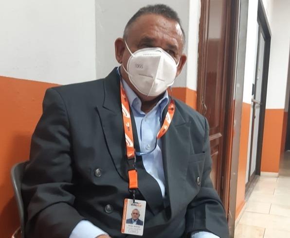 Director Regional Operativo de Zona 4 de Edesur Ángel Manuel Olivero inicia proyecto 24 horas de luz en Don Bosco de Barahona.