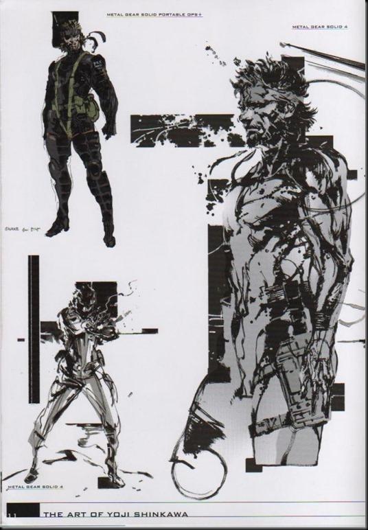 The Art of Yoji Shinkawa 1 - Metal Gear Solid, Metal Gear Solid 3, Metal Gear Solid 4, Peace Walker_802479-0016
