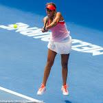 Madison Keys in action at the 2016 Australian Open