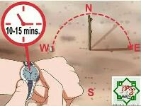 menentukan arah tanpa kompas