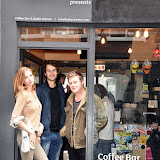 OIC - ENTSIMAGES.COM - Olivia Fox - Made In Chelsea LA, Bobby Bazini  and Harry Pane at the  Soho Radio show London  12th September 2015 Photo Mobis Photos/OIC 0203 174 1069