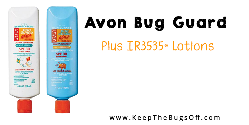 Avon Bug Guard plus IR3535 Moisturizing Lotions can be purchased over at my Avon Representative Webiste. Click to order here.