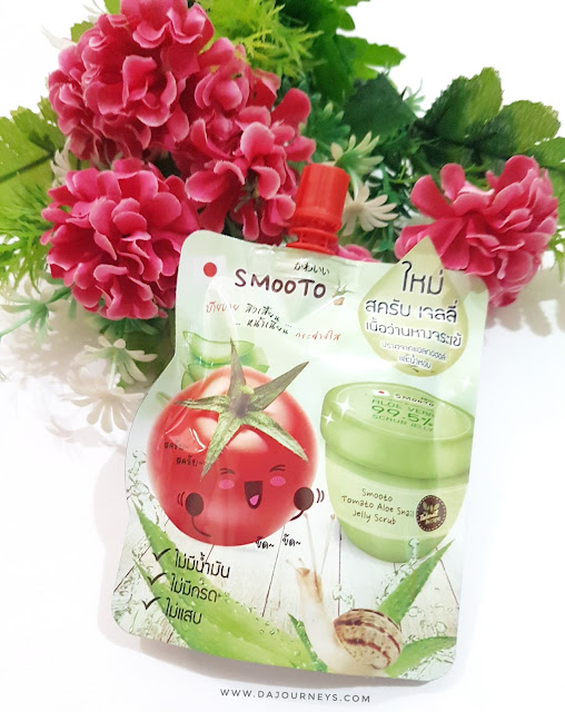 [Review] Smooto Tomato Aloe Snail Jelly Scrub