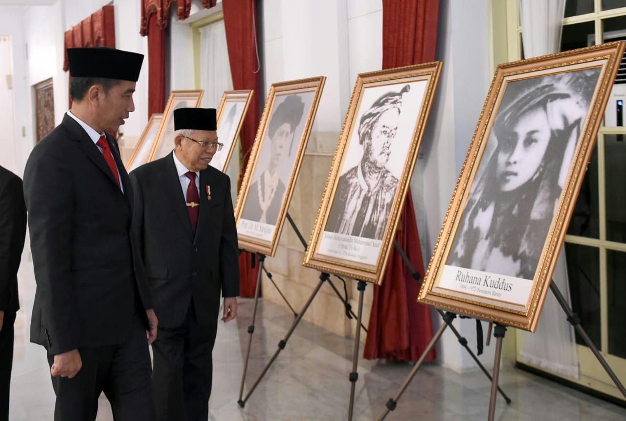 Presiden Jokowi Anugerahkan Gelar Pahlawan Nasional kepada 6 Tokoh