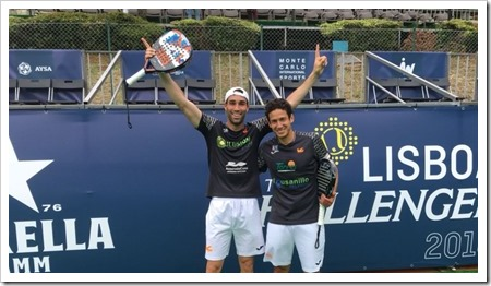 Botello y Ruiz Campeones del Lisboa Challenger WPT 2018.