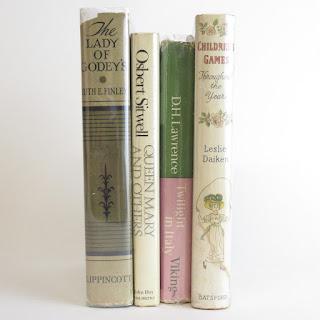Vintage Book Lot of 4