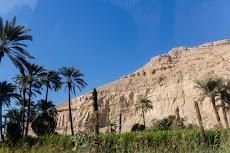 Nice landscape to Qena