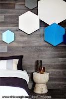 Sáng tạo và ấm áp với thiết kế tường gỗ trong phòng ngủ - Thi công trang trí nội thất