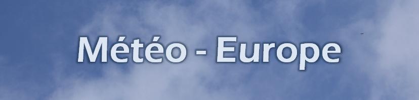 Météo - Europe