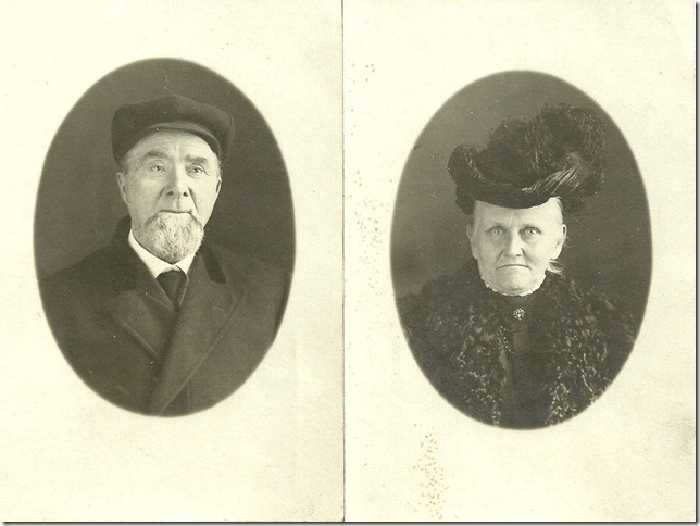 HART_Leonard A & wife Frances Georgia nee Wetherall_portrait photos