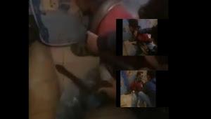 Aparat Di Wamena Lakukan Interogasi Pencuri dengan Ular