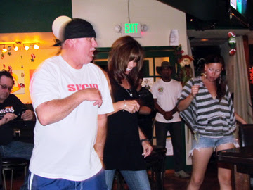 dance and sing at dickie o'neal's irish pub