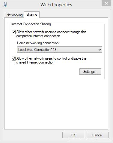 Wifi Ad Hoc En Windows 8