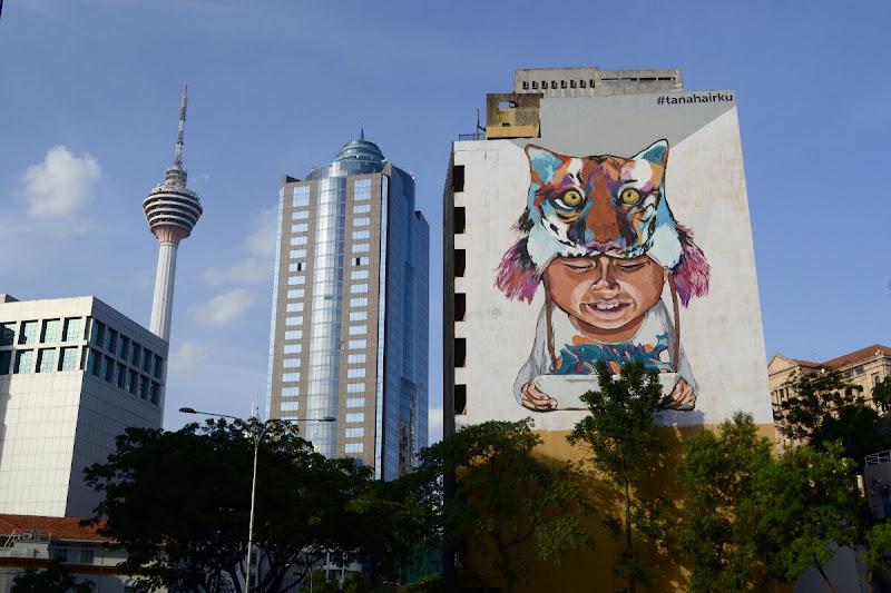 граффити куала-лумпур