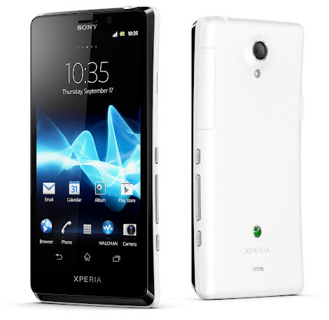 Sony Xperia T Unveiled – Wifi and Camera Specs