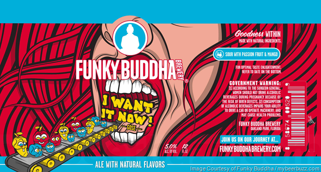 Funky Buddha I Want It Now 12oz Cans