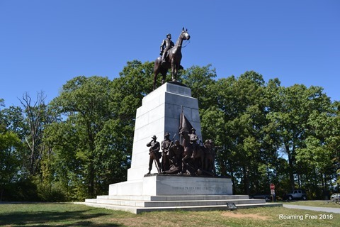 Virginia Memorial -- Robert E. Lee on Traveller
