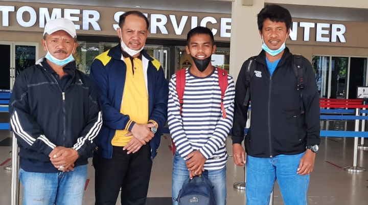 Perdana, Sosok Anak Muda Dari Muna Barat Ikut Seleksi Pemain Timnas U-16 di Jakarta