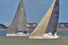 J/109s sailing Solent- Warsash Spring Series