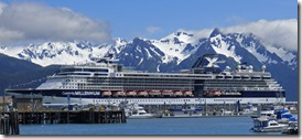Millennium of the Celebrity Cruises Line, Seward Alaska
