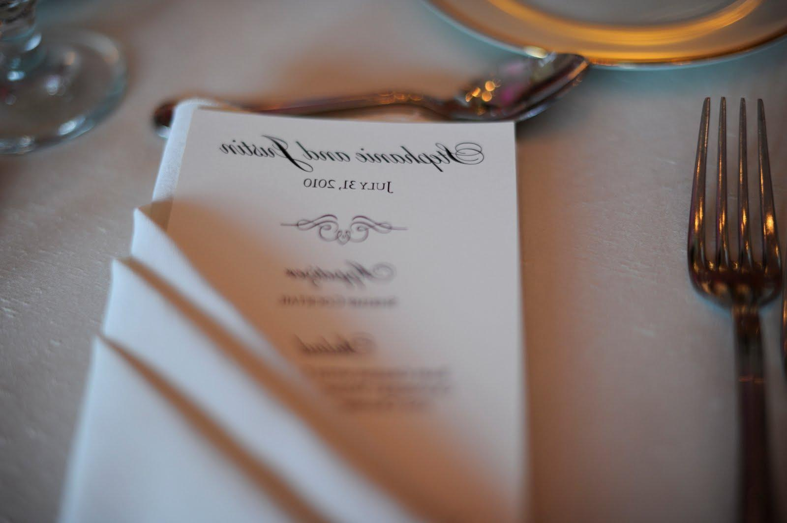 67 Best Images About Napkin Rings Menu Cards On: Dustine's Blog: For James, Blue Suit, White