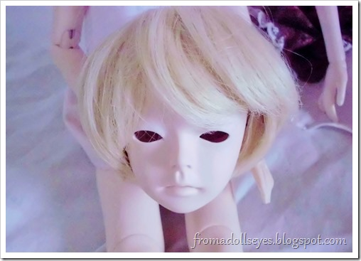 Of Bjd Hair: Reviewing Three Wigs? From Alice's Collections AFB4054 Blond Wig for msd bjds.