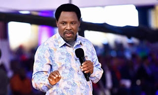 TB Joshua: Tears flows in Mercy City as Nigerian Billionaire Prophet, Jeremiah Fufeyin and congregation mourn Snr Prophet TB Joshua