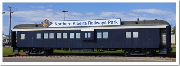 Icon of the Northern Alberta Railway Park, Dawson Creek, B.C.