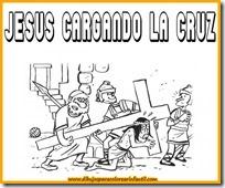 semanadibujos-de-semana-santa-jesus-cargando-la-cruz-para-colorear