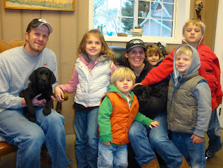 """They wanted 2, but only took one!""""Lucy"" will have a busy, happy life with the Benedict Family"