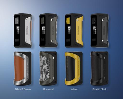 Color7 thumb%255B2%255D - 【MOD】「GEEKVAPE AEGIS 100W 18650/26650 BOX MOD」(ギークベイプ・イージス100W)レビュー!水につけても平気、落としても100人乗っても…頑丈MOD!!【VAPE/電子タバコ/防水/防塵/耐衝撃】