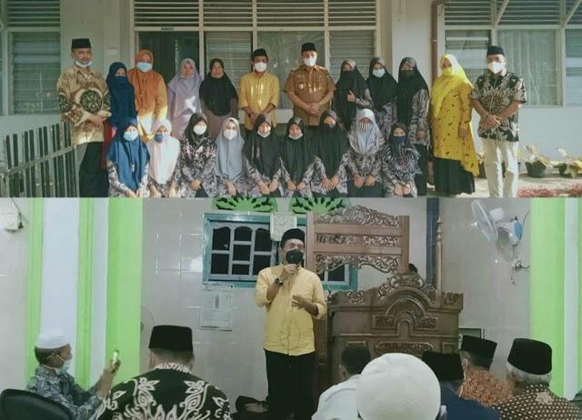 Berkah Ramadhan, Jhon Kenedy Azis Santuni Anak Yatim Di Pasaman
