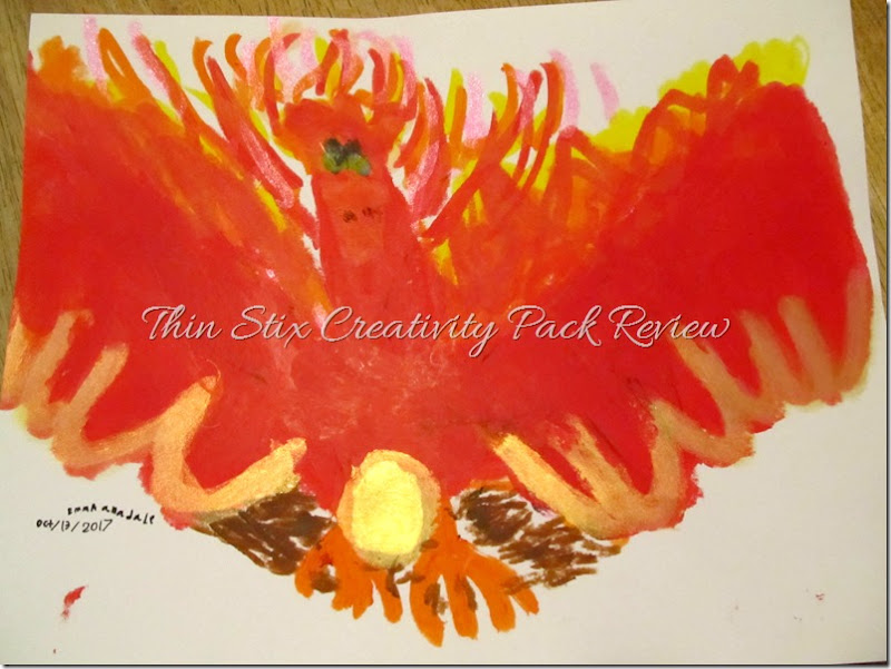Mess-Free Paint, a review of Thin Stix at Homeschooling Hearts & Minds